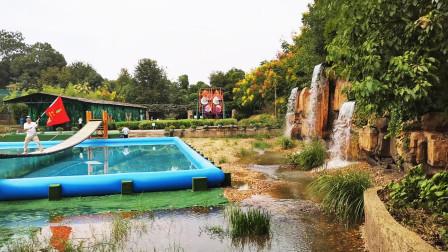 衡阳双水湾乡村文化园,怡人的景色,吸引了不少的摄影摄像艺术家
