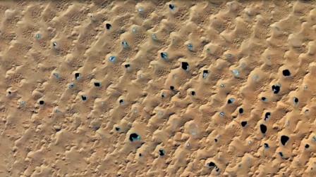 """美国卫星路过中国沙漠,发现了""""神秘""""黑点,科学家们坐不住了"""