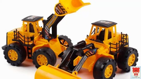挖机 推土机 吊机等工程车之机器人警察