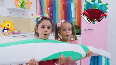 萌宝亲子故事:真皮!小萝莉姐妹俩为何一直争抢玩具?