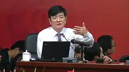 郑强:这教授的心理素质真是扛扛的,一个人要做事,先讲品德