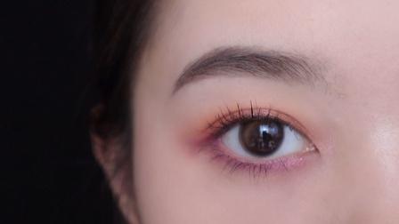 【大脸鱼尾】王霏霏同款 眼影盘 | 橙紫眼妆太甜了~