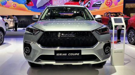 2021款长城 哈弗H6 Coupe全方位展示,外观与内饰高清实拍