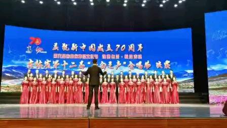 大合唱,我像雪花天上来,演唱长影合唱团,指挥,黄澈
