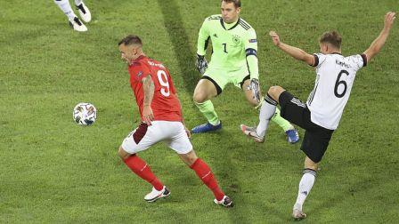 2020-2021欧国联 德国VS瑞士 3:3艰难扳平比分 德意志怎么了!