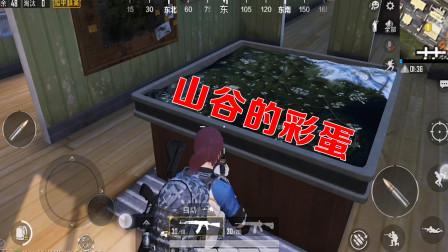 和平精英:山谷地图上线后,玩家发现迷宫点位有个隐藏彩蛋!