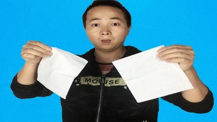 魔术揭秘:空手消失纸巾,随时随地都能表演!方法特简单