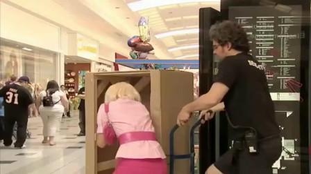 爆笑恶作剧:粉红女郎到处都是,路人捡钱包难找失主