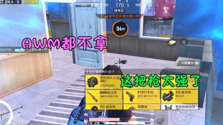 人机9527:挑战山谷最强枪械,AWM都不拿,这把枪太强了