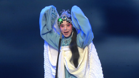 河南豫剧院青年团优秀演员梅喜雪最新《义烈风》过河,基本功真好