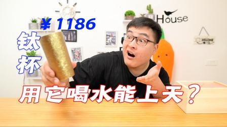 一个破杯子凭啥敢卖1186元?卖家表示效果太逆天!