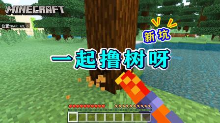 我的世界1.16版联机01:开局就有废弃矿井、神庙、岩浆峡谷!