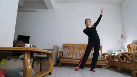 学跳花与影广场舞《站着等你三千年》
