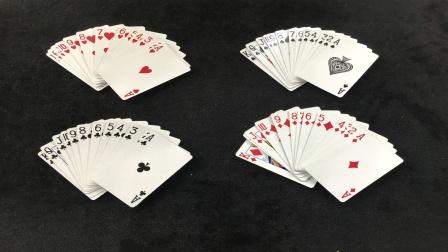 一秒钟分离扑克牌的花色,忽悠了我10多年的魔术,揭秘后很简单