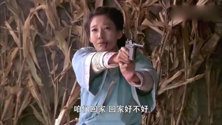 刀客家族:三嫂子受辱开枪自尽,刀客大怒手刃罪魁祸首来祭奠她