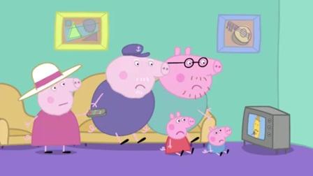 小猪佩奇:猪爷爷拆下轮子,要它干嘛呢?咱们来瞧瞧喽!