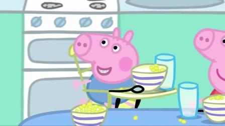 小猪佩奇:猪爸爸猪妈妈不像话,自己孩子打嗝还嘲笑,留下阴影怎么办?