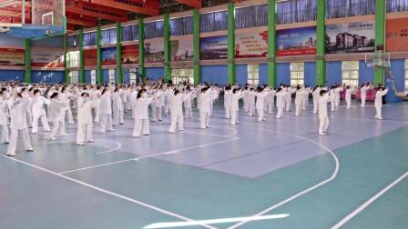 传统《杨式37式太极拳》集体展示
