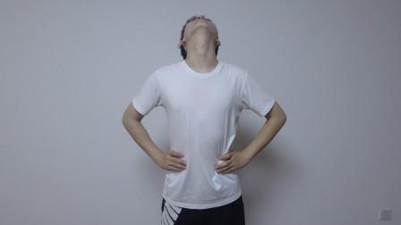 每天坚持这个动作30次,颈椎恢复不难受,在家就能做