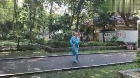 杨淮海老师现场演练传武术刀法慢动作教学!