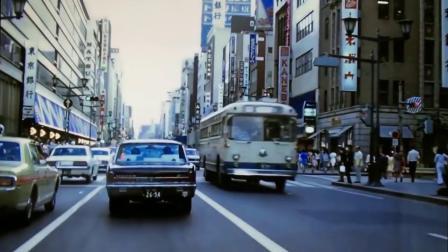 20世纪70年代的东京,看起来十分发达,街道很整洁!
