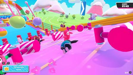 糖豆人终极淘汰赛:这个游戏好多坏玩家,坑你没商量