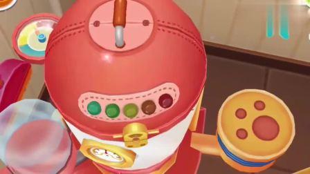 宝宝巴士:今天带宝宝去看糖果是怎么做的,看起来真美味啊
