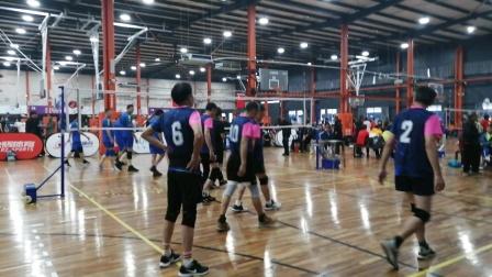 2020年江西省首届老年人气排球交流活动男子组南昌对九江第一局南昌队胜