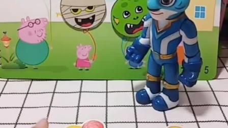 小猪一家在喊救命,原来小猪一家的气球被换了,风暴帮小猪一家找回气球