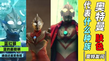 【杂谈解说】蓝族、红族和银族,哪种颜色的奥特曼最厉害?