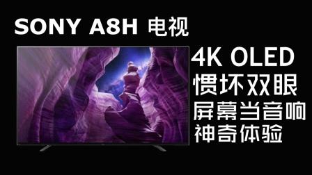 「花生初体验」4K OLED惯坏双眼,屏幕当音响神奇体验【索尼4K智能电视 A8H使用报告】
