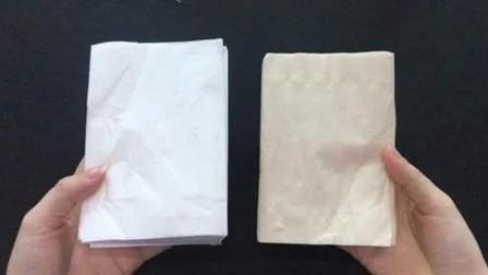 买卫生纸是白色好还是黄色的好?今天视频来揭秘,涨知识了