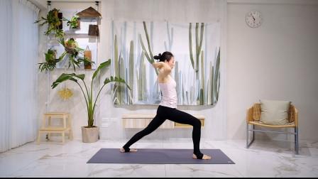 17分钟基础瑜伽拜日式B!