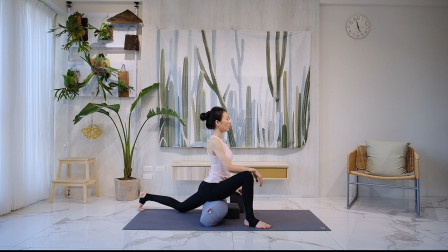 25分钟阴瑜伽香蕉式高飞龙式
