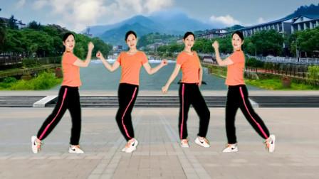 爆火流行广场舞64步《不过人间》DJ版听得舒心 跳得开心
