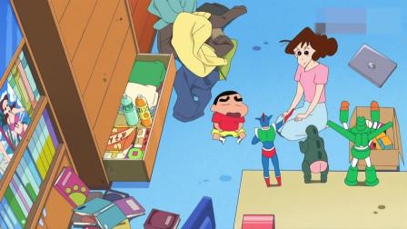 蜡笔小新:小新也想要自己的房间,决定将壁橱空间占为己有了
