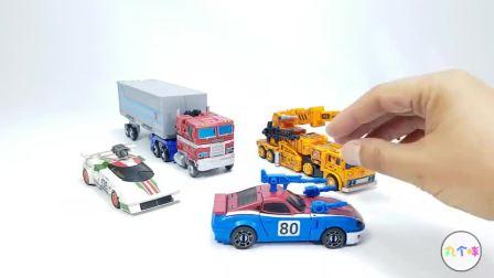 4款变形金刚WFC地出系列 汽车人擎天柱玩具