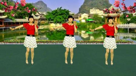 广场舞《相思蝶》歌声悠扬动听,舞步轻盈优美