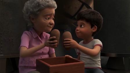 男孩和奶奶被困地洞,男孩努力逃了出去,却再也找不到奶奶的踪迹