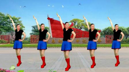 女女广场舞《想让雨滴问问你》
