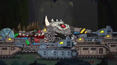 坦克大战:进化之路已经完成,让你感受无敌的存在!
