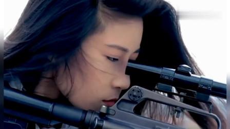 盘点杀手片段,美女杀手在暗处埋伏,出手便打中目标