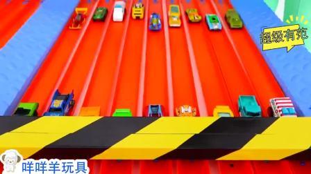 超精彩,萌娃小正太和弟弟怎么有个超级轨道?谁的玩具车更厉害?
