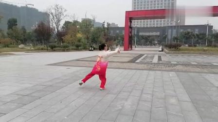 潘桂苹老师现场演练四十二式太极拳 !