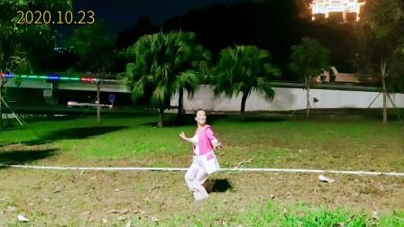 刘老师舞蹈《梦中的兰花花》2020.10.23
