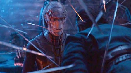 《复联4》中被低估的反派,他的实力堪比灭霸,一眼看穿了时空穿越