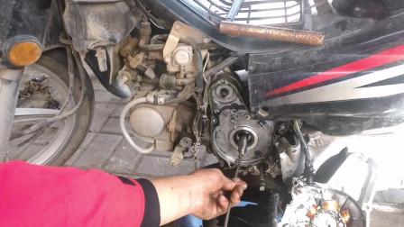 摩托车发动机漏油缺到不到故障该怎么办?师傅教你一招直接就修好