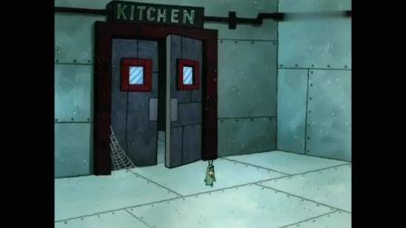 海绵宝宝:餐厅太破旧了,海绵和派大星帮忙整理,终于干净了。(1)