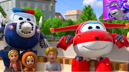 超级飞侠第109期变形机器人飞机总动员东哥