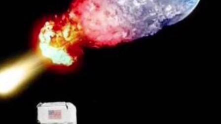 假如你是这个宇航员,在月球上看到这一场景,你会想些什么?